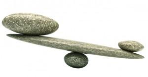 Image of Rocks in Fulcrum Arrangement
